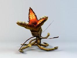 Carnivorous Plant Monster 3d model