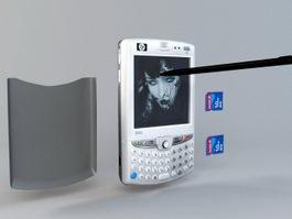 HP iPAQ HW6515 PDA 3d model