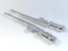 Automatic Rifle 3d model