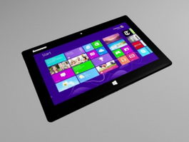 Lenovo Miix Tablet 3d model