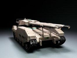 Apocalypse Tank 3d model