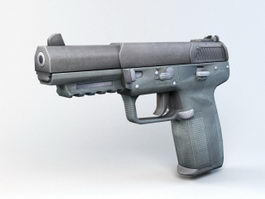 FN Five-seven Pistol 3d model