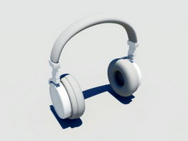 Full Size Headphone 3d model