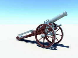 Napoleon Cannon 3d model