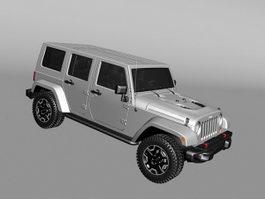 Jeep Commander 3d model