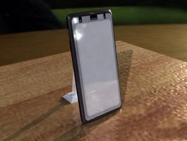 Touch Screen Mobile Phone 3d model