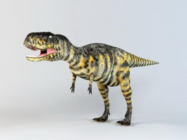 Abelisaurus Dinosaur 3d preview