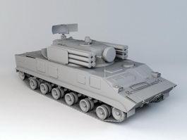 BTR-3 APC 3d model