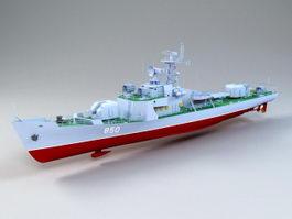 Petya-class Frigate 3d model