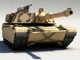 Modern Tank 3d model