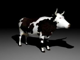 Dairy Cow 3d model