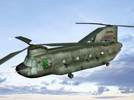 CH-47 Chinook 3d preview
