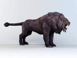 Black Lion 3d preview
