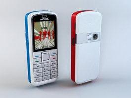 Nokia 5070 3d model