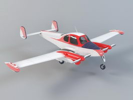 Small Seaplane 3d preview