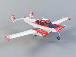 Small Seaplane 3d model