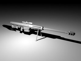 Barrett M99 Rifle 3d model