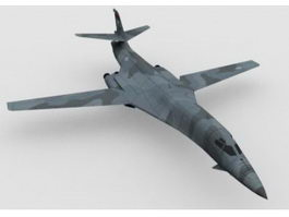 B-1 Lancer Heavy Bomber 3d model