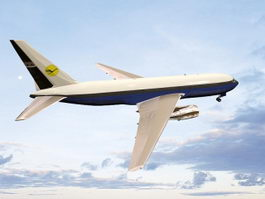 Boeing 767 Jet Airliner 3d preview