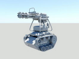 Robot Battle Tank 3d model