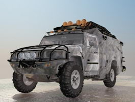 Jeep Off-road Vehicle 3d model