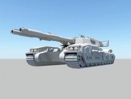 M61A5 Semovente MBT 3d model