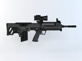 Kel-Tec RFB Rifle 3d model