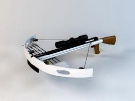 Military Crossbow 3d model