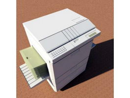 Photocopier Machine 3d model