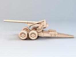 Field Artillery 3d model