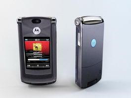 Motorola Razr2 V8 3d model