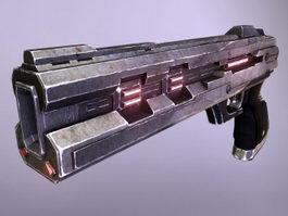 Sci-Fi Energy Pistol 3d model