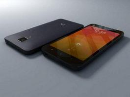 Xiaomi Mi 4 Smartphone 3d model