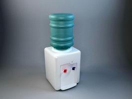 Small Water Dispenser 3d model