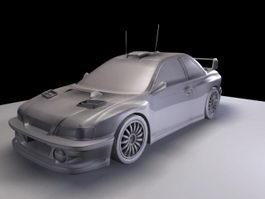 Subaru Impreza WRX 3d model
