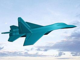 Su-27 Fighter 3d model