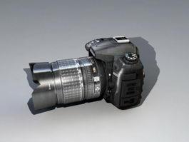 Nikon D7000 DSLR 3d preview