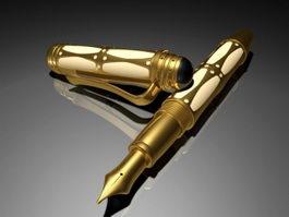 Montblanc Pen 3d model