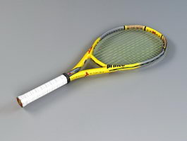 Prince TT Scream Tennis Racquet 3d model