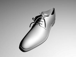 Oxford Shoe 3d model