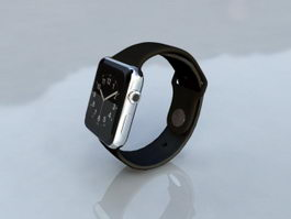 Apple Watch 3d preview