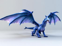 Lightning Dragon 3d model
