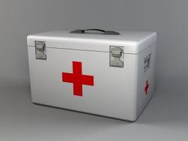 Medicine Box 3d model