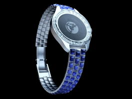 Dior Watch 3d preview