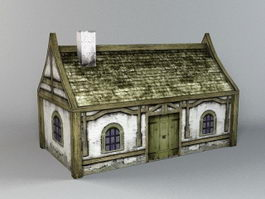 Family Dwelling House 3d model