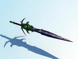 Demon Eye Sword 3d model