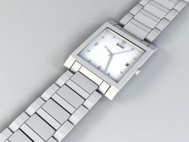 Citizen Eco-Drive Watch 3d model