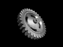 Spur Gear Part 3d model