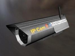 IP Camera 3d model
