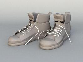 Man Boots 3d model